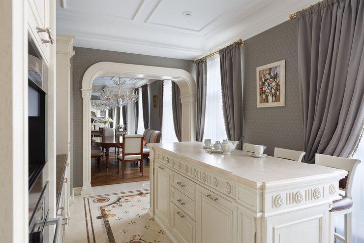 Студия дизайна интерьера в Москве 'Юдин и Новиков' Кухня