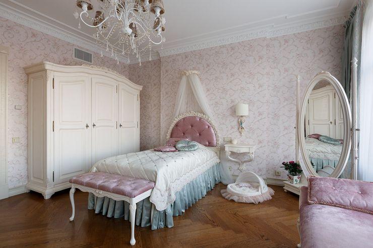 Студия дизайна интерьера в Москве 'Юдин и Новиков' Спальня