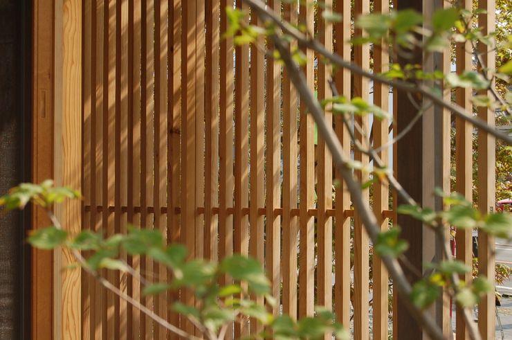 環アソシエイツ・高岸設計室 Windows & doors Windows Wood Wood effect