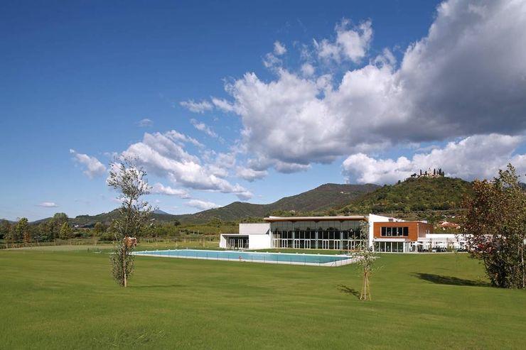 Le Gocce Franciacorta Sport Village Cotefa.ingegneri&architetti Stadi moderni