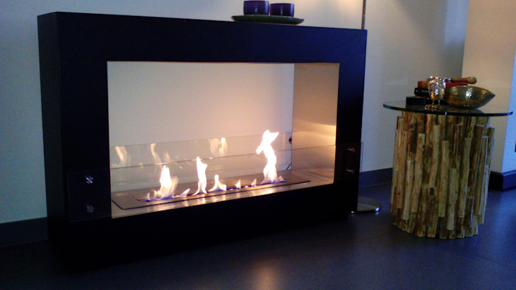 Clearfire - Lareiras Etanol 客廳壁爐與配件 鐵/鋼 Black