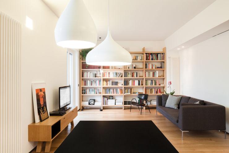 living soggiorno M2Bstudio Soggiorno minimalista
