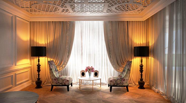 SALON Oda Tasarım İçmimarlık Klasik Oturma Odası