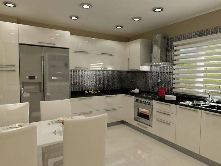 Pastel İç Mimarlık Kitchen Wood White