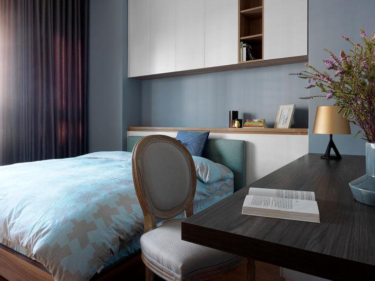 賀澤室內設計 HOZO_interior_design Chambre originale