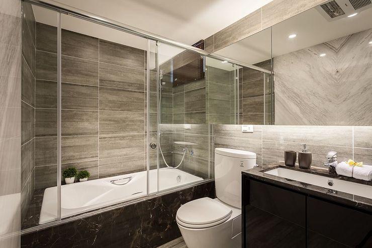你你空間設計 Salle de bain moderne