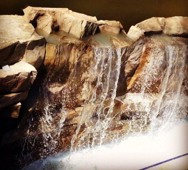 ADALYA HOTEL KUNDU- ŞELALE PALMROCK WATERFALL Palmiye Peyzaj Mimarlık Tropikal Oteller