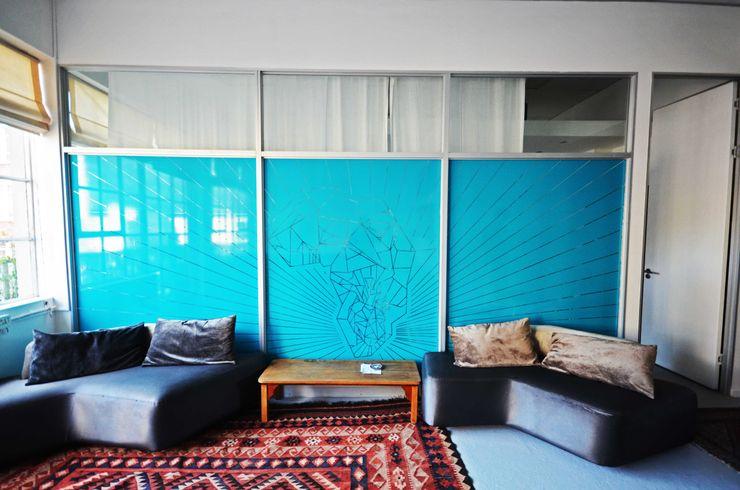Till Manecke:Architect Livings de estilo moderno