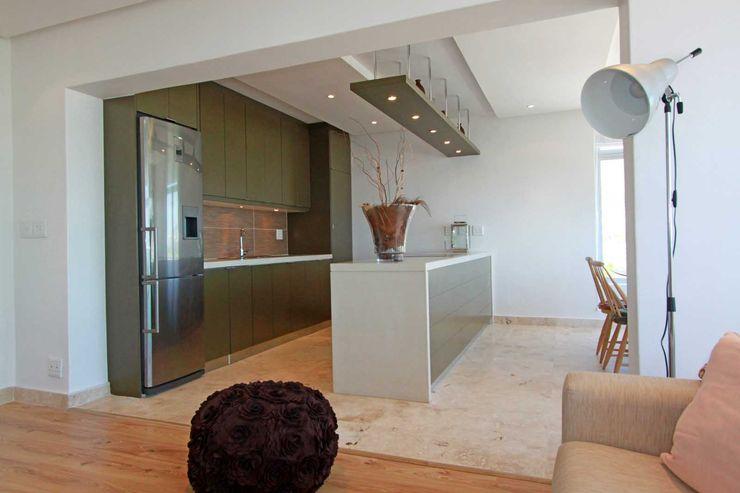 open plan living Till Manecke:Architect 廚房