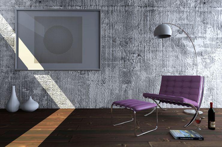 Loft homify Salones de estilo minimalista