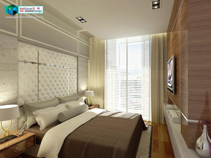 Axis Group Of Interior Design Moderne Schlafzimmer
