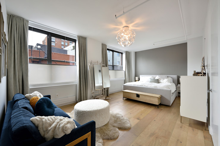 Renovation at 7 Wooster KBR Design and Build Modern Bedroom