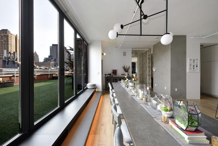 Renovation at 7 Wooster KBR Design and Build Modern Dining Room