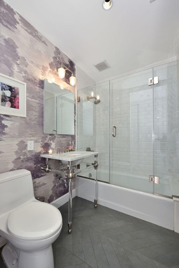 Renovation at 7 Wooster KBR Design and Build Modern Bathroom