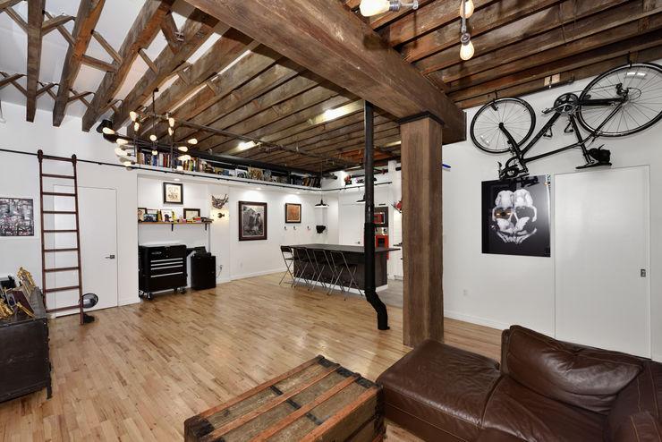 Renovation at 29 Tiffany KBR Design and Build Living room