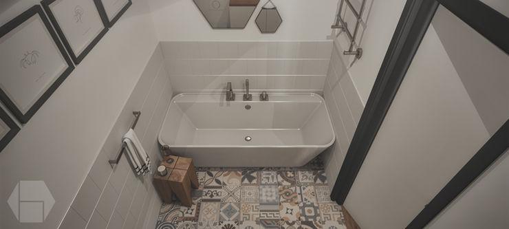 hexaform 現代浴室設計點子、靈感&圖片