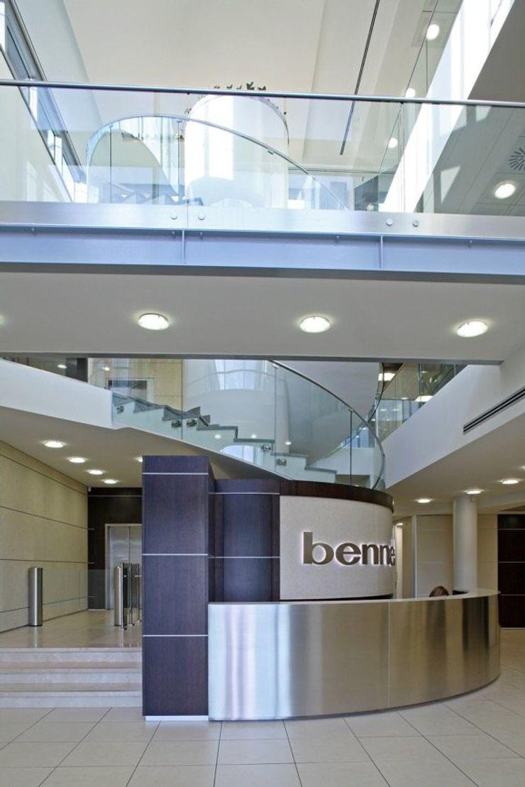 Uffici Direzione Gruppo Bennet – Montano (Como) Cotefa.ingegneri&architetti Complesso d'uffici moderni