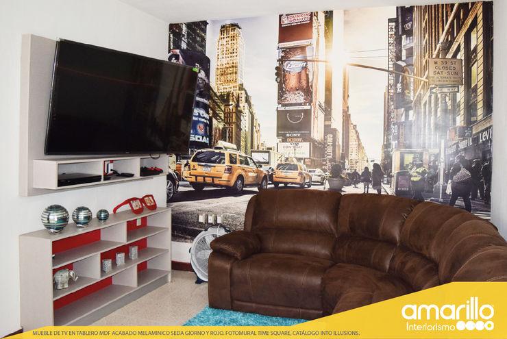 Amarillo Interiorismo Multimedia roomAccessories & decoration