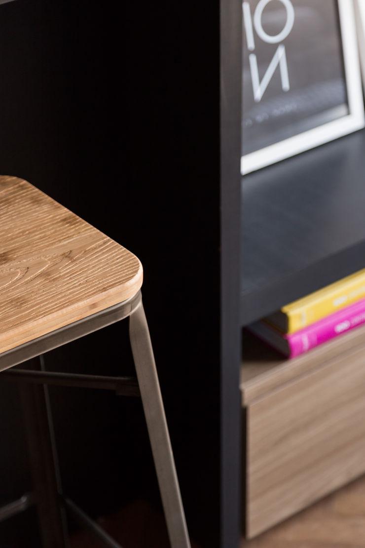 Apartamento Soho K+S arquitetos associados Sala de estarBancos e cadeiras