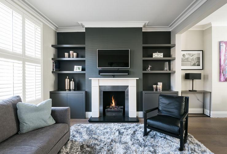 Disraeli Road, Putney Grand Design London Ltd Modern living room