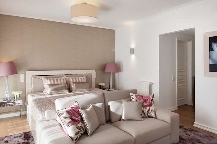 Interdesign Interiores Dormitorios de estilo moderno