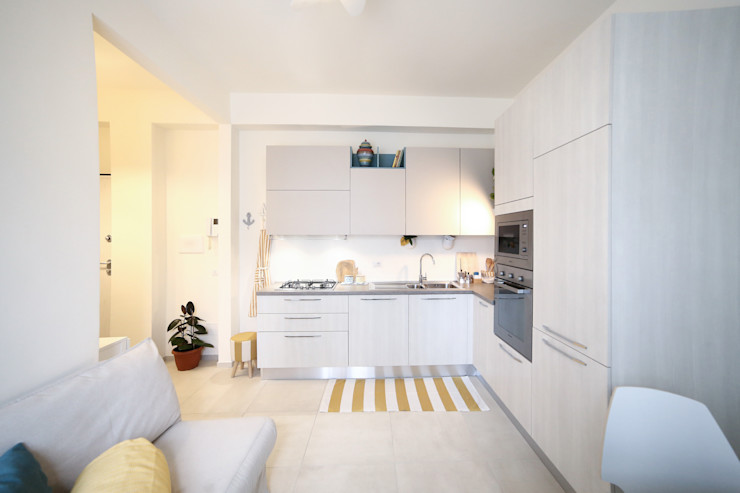 Interior | Cesenatico Civicocinquestudio Cucina in stile mediterraneo