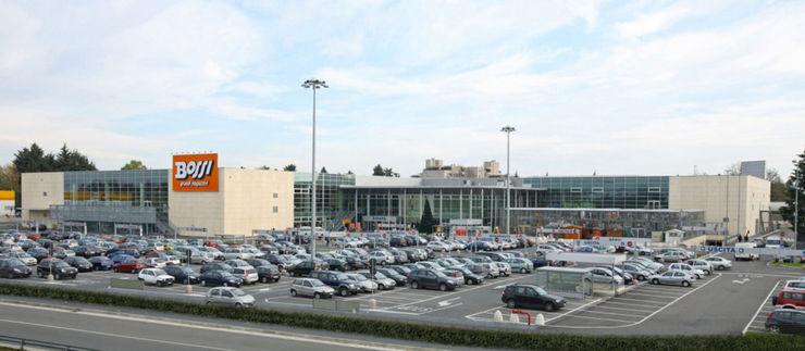Grandi Magazzini Bossi Cotefa.ingegneri&architetti Centri commerciali moderni