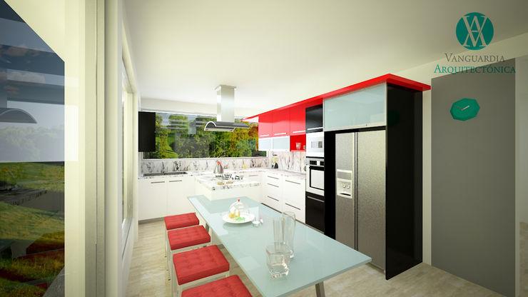 Vanguardia Arquitectónica KitchenTables & chairs Black