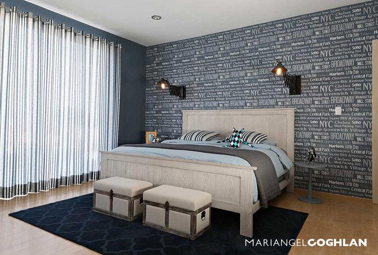 MARIANGEL COGHLAN Salones de estilo moderno