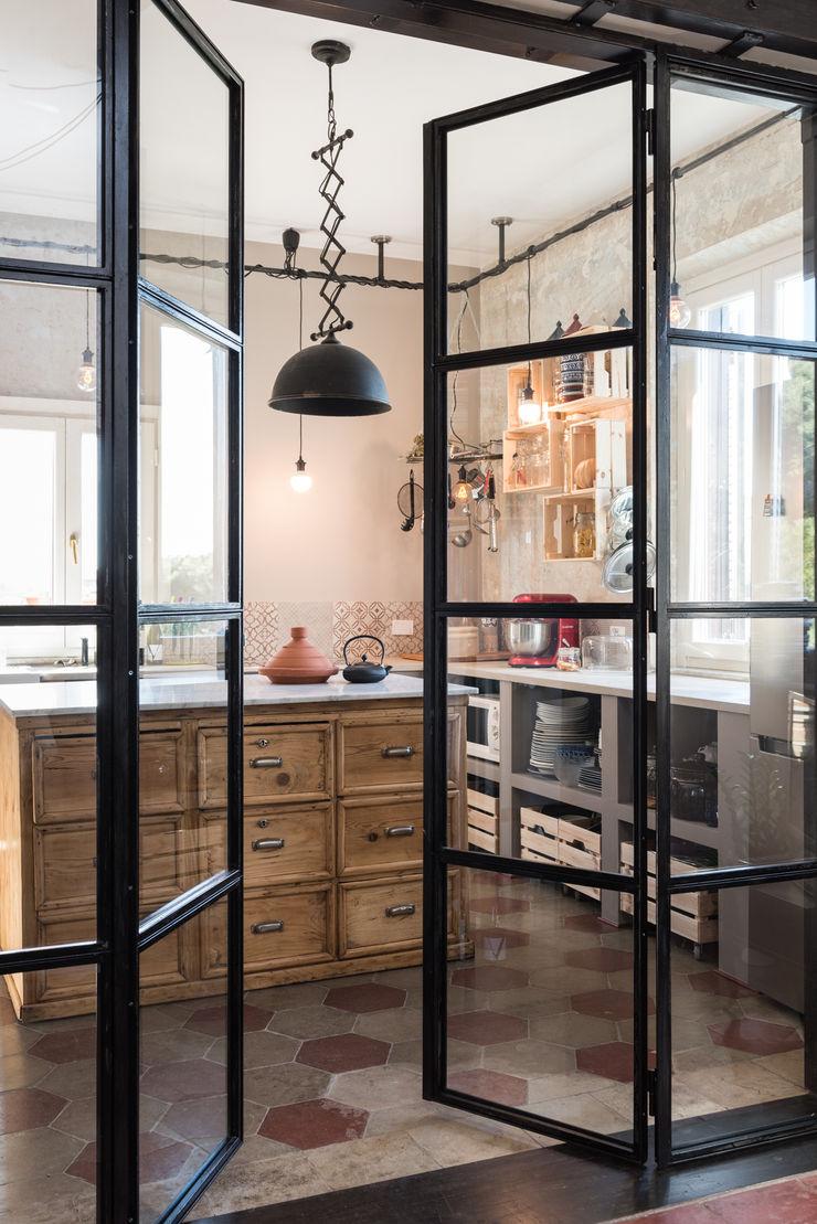 SCL_FLAT Caterina Raddi Cucina in stile industriale