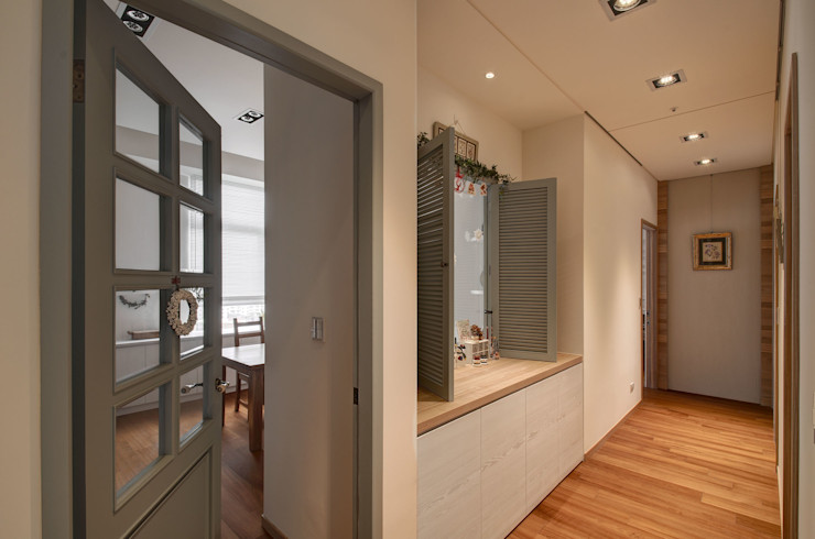 芸采創意空間設計-YCID Interior Design Koridor & Tangga Modern