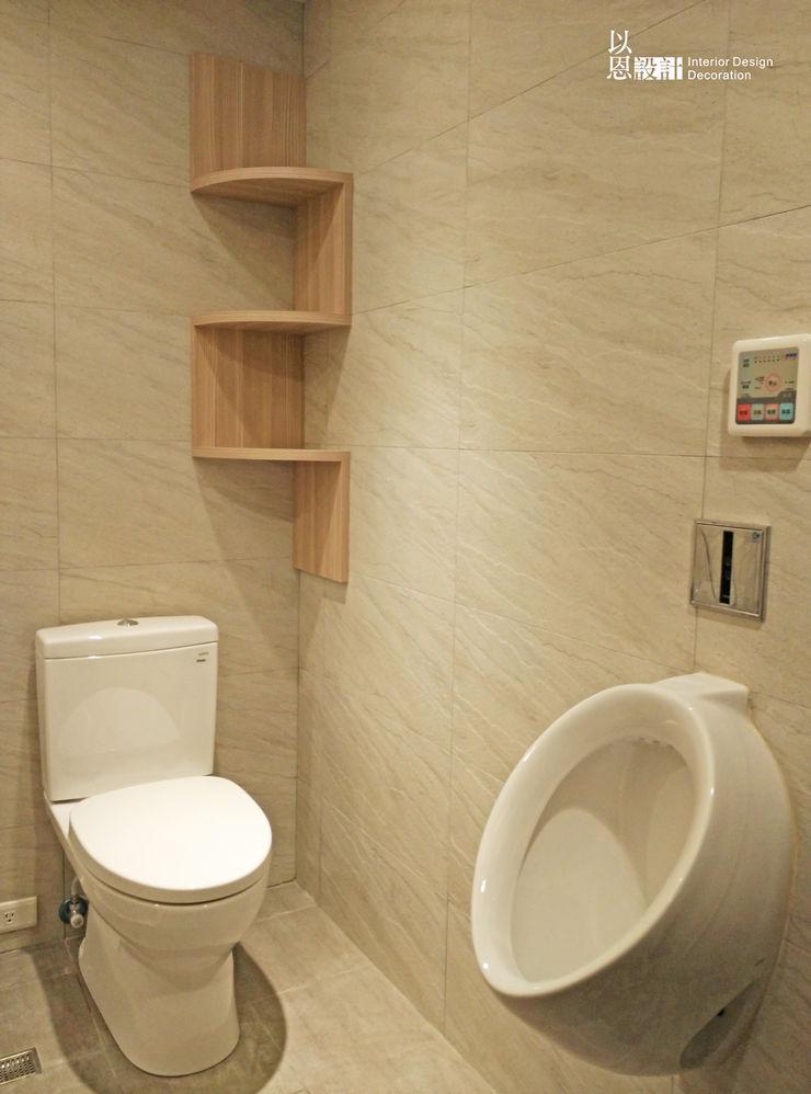 共用衛浴 以恩室內裝修設計工程有限公司 現代浴室設計點子、靈感&圖片
