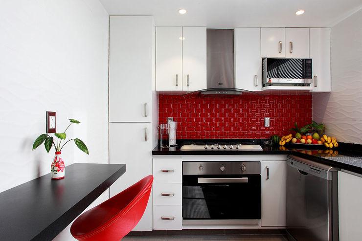 Letrán Valle All Arquitectura Cocinas eclécticas Blanco