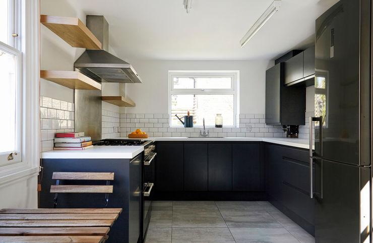 Stoke Newington House of Sylphina Scandinavian style kitchen