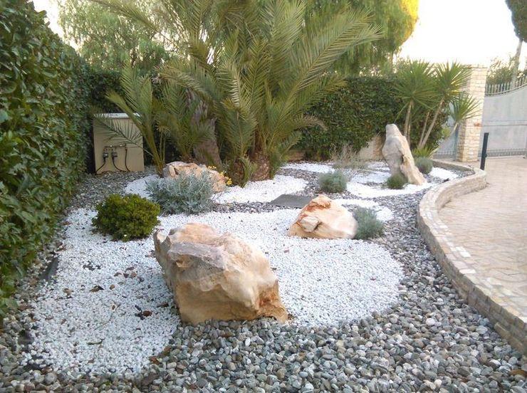 landscapeABC studio garden design Jardines rústicos Piedra Blanco