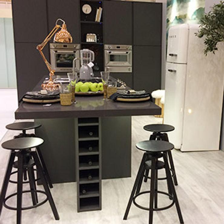 carla gago-interiores Modern kitchen