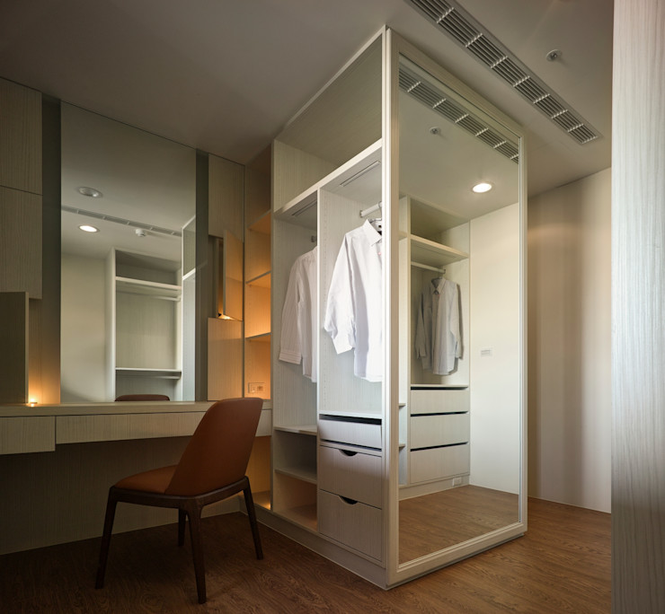 墐桐空間美學 Classic style dressing room