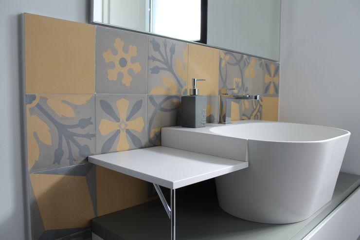 Romano pavimenti Eclectic style bathroom Tiles Multicolored