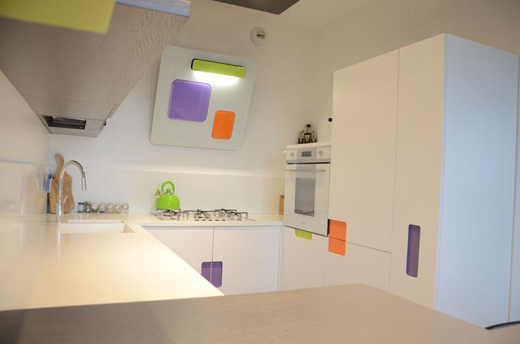 Il moderno Annalisa Carli Cucina moderna Legno Bianco