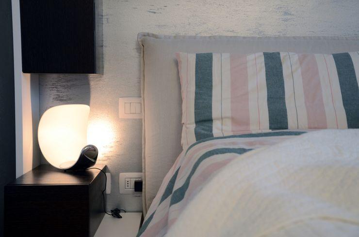Il moderno Annalisa Carli Camera da letto moderna Legno Grigio