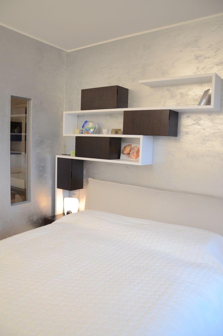 Il moderno Annalisa Carli Camera da letto moderna Legno Beige