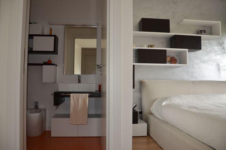 Il moderno Annalisa Carli Camera da letto moderna Legno Variopinto
