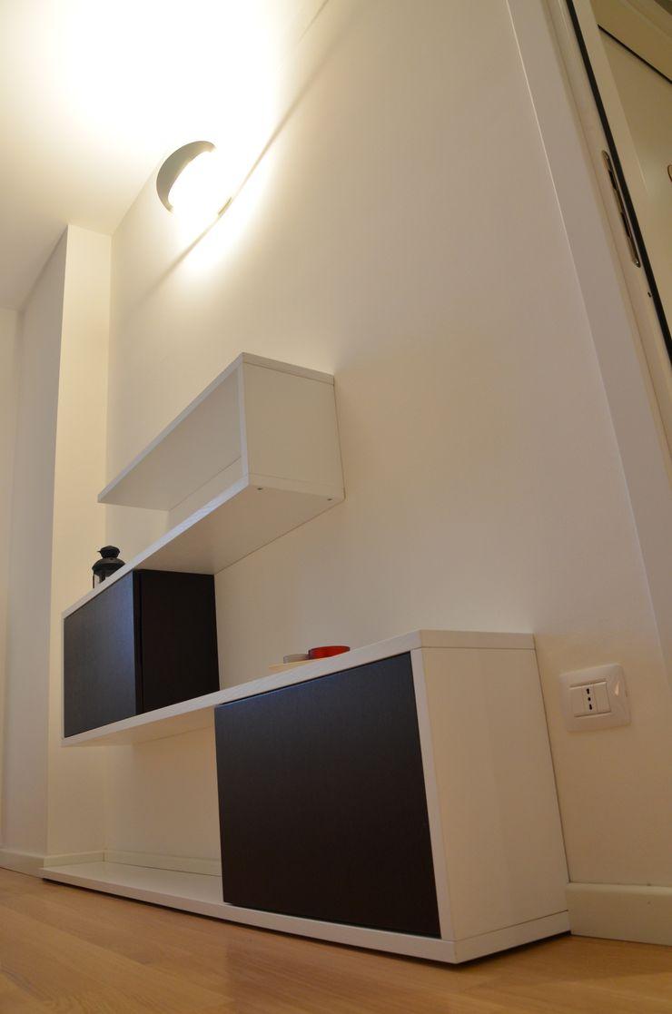 Il moderno Annalisa Carli Camera da letto moderna Legno Bianco