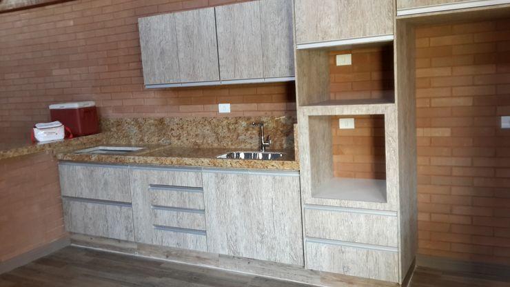 EKOa Empreendimentos Sustentáveis Cocinas de estilo rústico