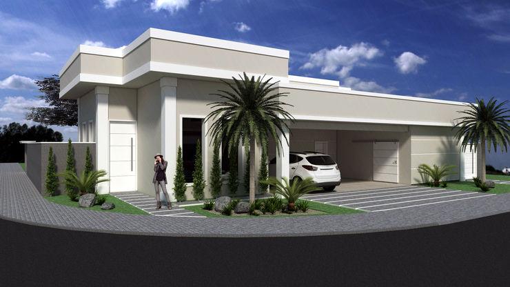 PACKER arquitetura e engenharia Classic style houses