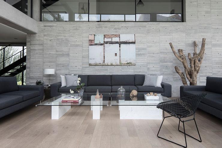 Casa 3:2 Método Arquitectos Salones minimalistas