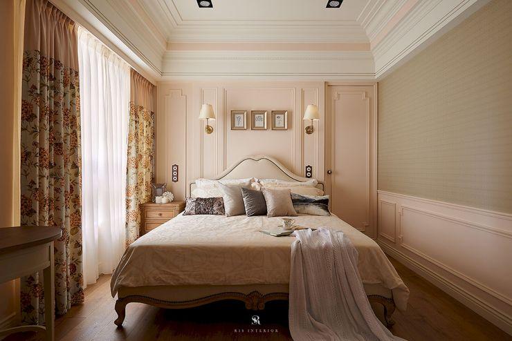 理絲室內設計有限公司 Ris Interior Design Co., Ltd. غرفة نوم Beige