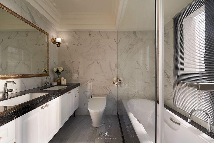 理絲室內設計有限公司 Ris Interior Design Co., Ltd. حمام White