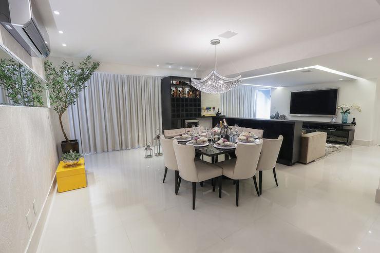 Carolina Fontes Arquitetura Modern dining room