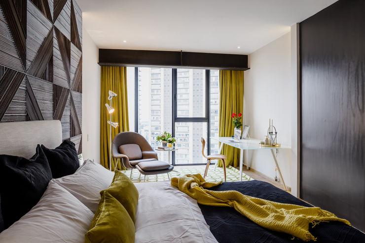 16MAN NIVEL TRES ARQUITECTURA Dormitorios modernos Madera